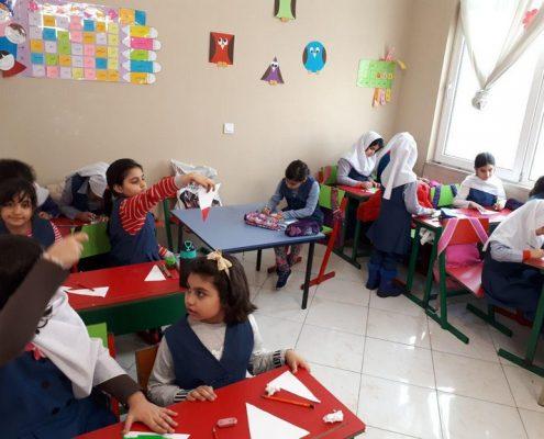 گزارش هفته دوم بهمن پایه دوم